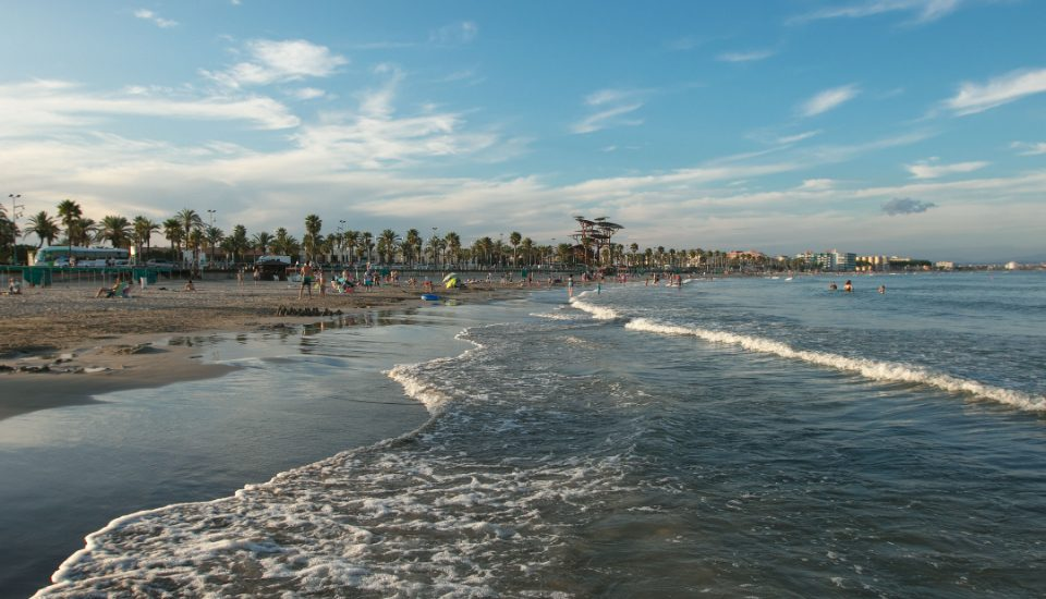 la pineda platja